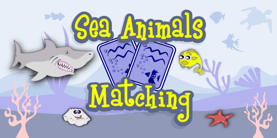 Sea Animals Matching